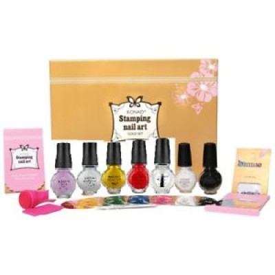 KONAD STAMPING ART;  KIT DE DECORATION D'ONGLES (MOYEN)