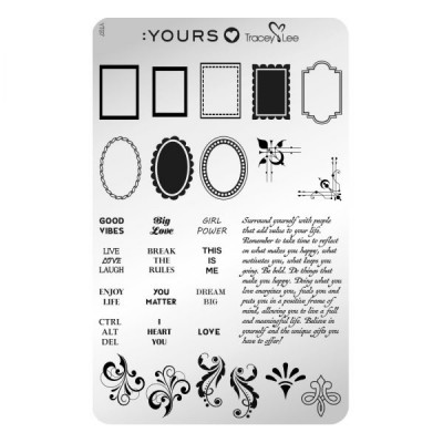 :YOURS PLATE  YLT07 - Frame Of Mind
