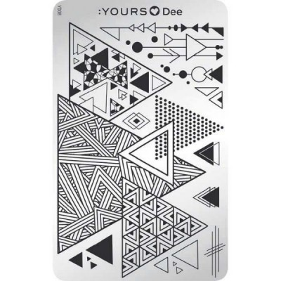 :YOURS PLATE   YLD08 - Triangle