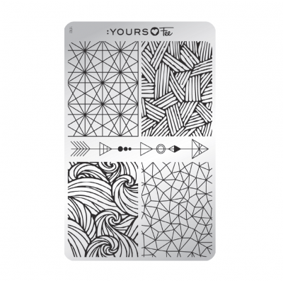 :YOURS PLATE   YLF01 - Modern Geometry