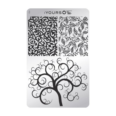 :YOURS PLATE   YLF02 - Twisted Garden