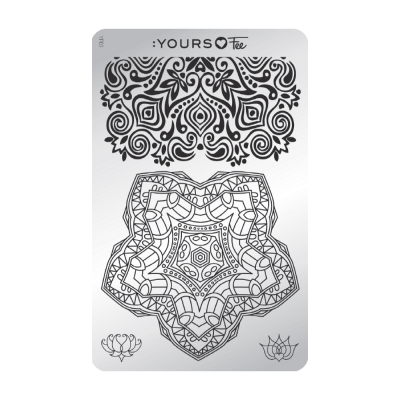 :YOURS PLATE   YLF03 - Mindful Mandala