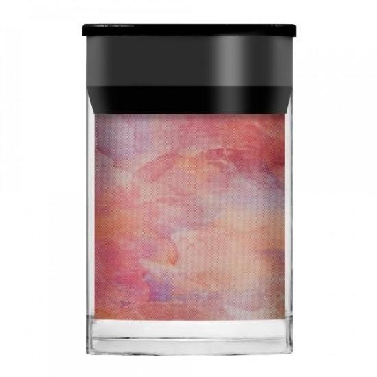 Lecenté Pink Sky Nail Art Foil